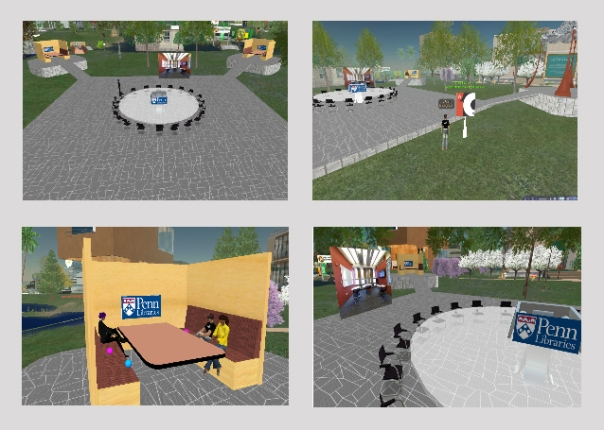 Penn's Campus on Second Life