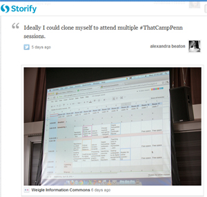 WIC on Storify
