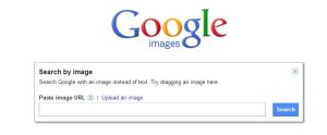 Search by Image box