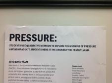 Pressure Rosie Frasso Class 2014