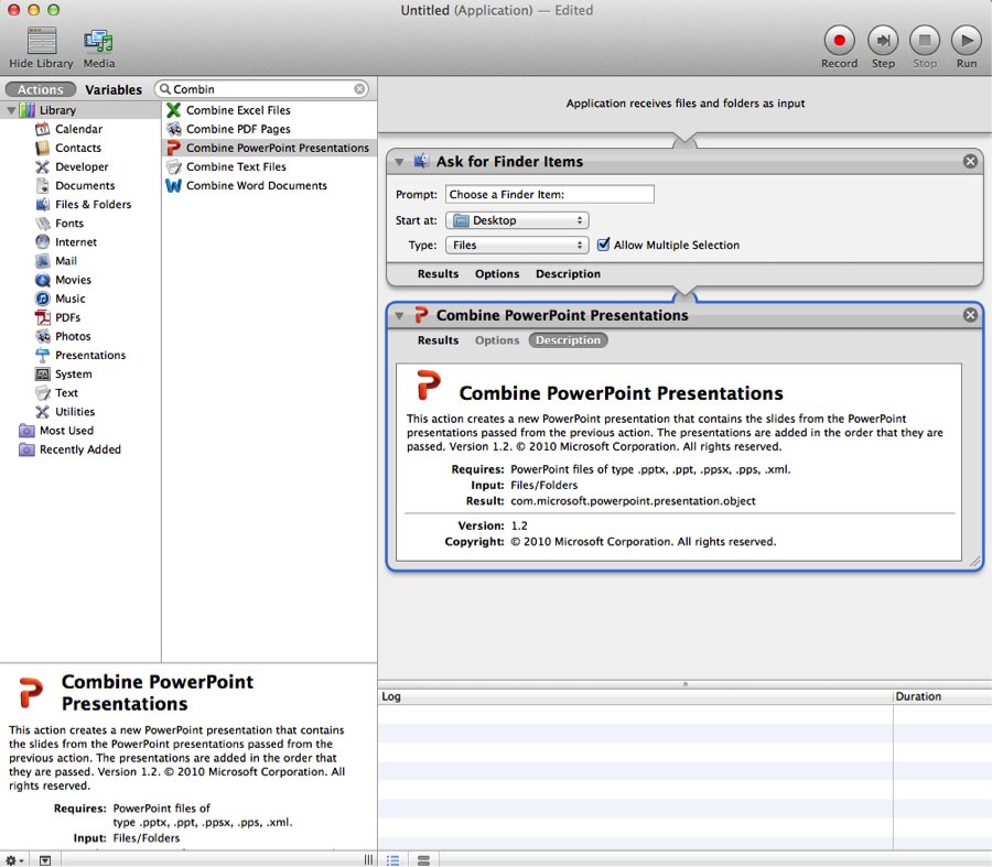 Use Automator To Combine Text Files Into One - criseap