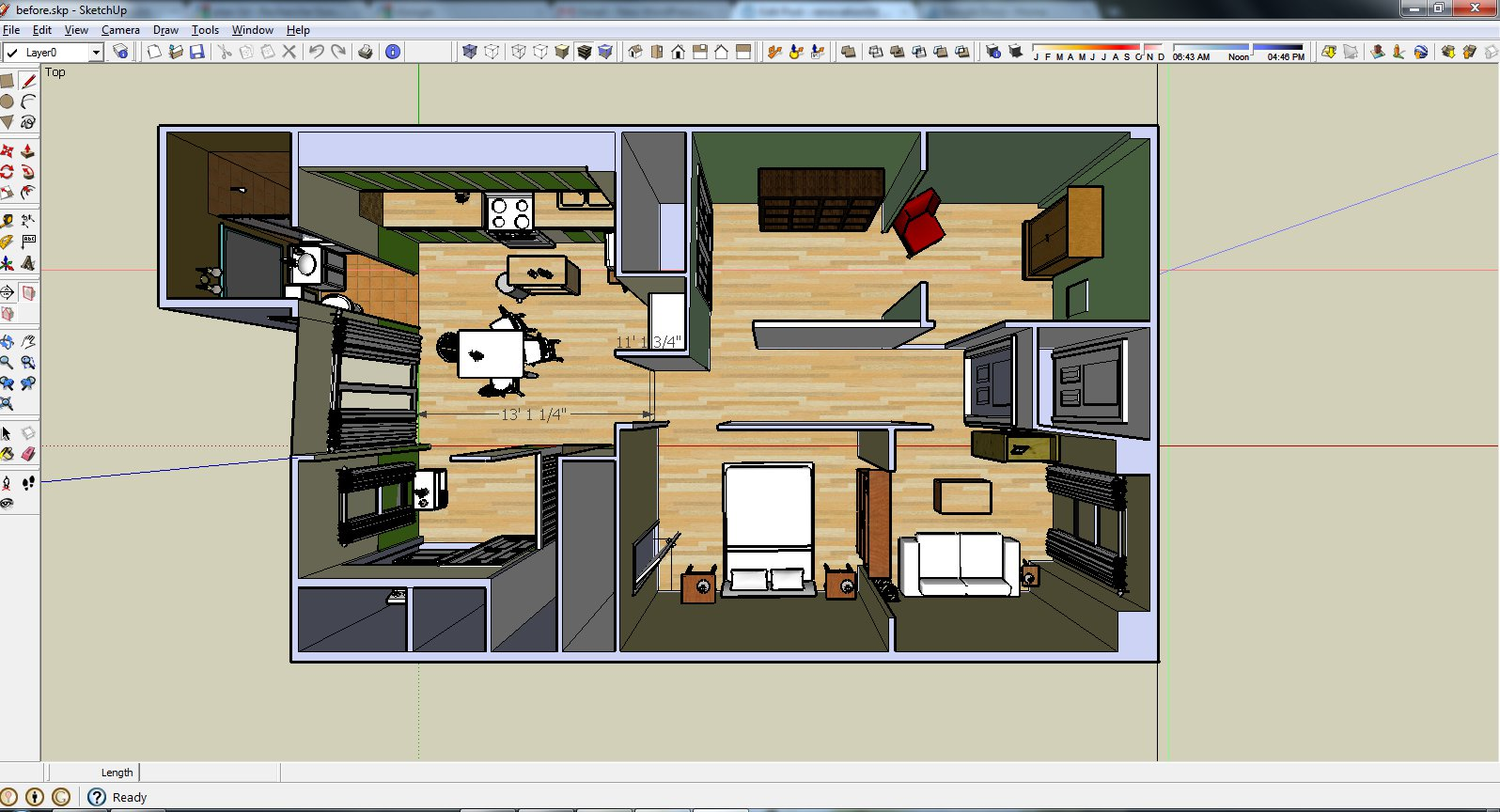 How To Draw A Floor Plan For A House Sketchup Software Pennwic