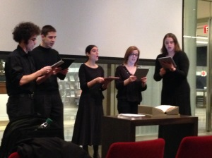 Penn Madrigal Singers performing Madrigals by Luca Marenzio