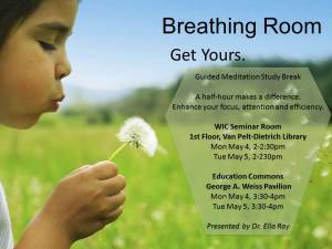 Meditation Workshops at the two Commons