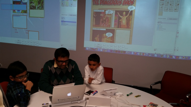 Bangla Class makes Comics